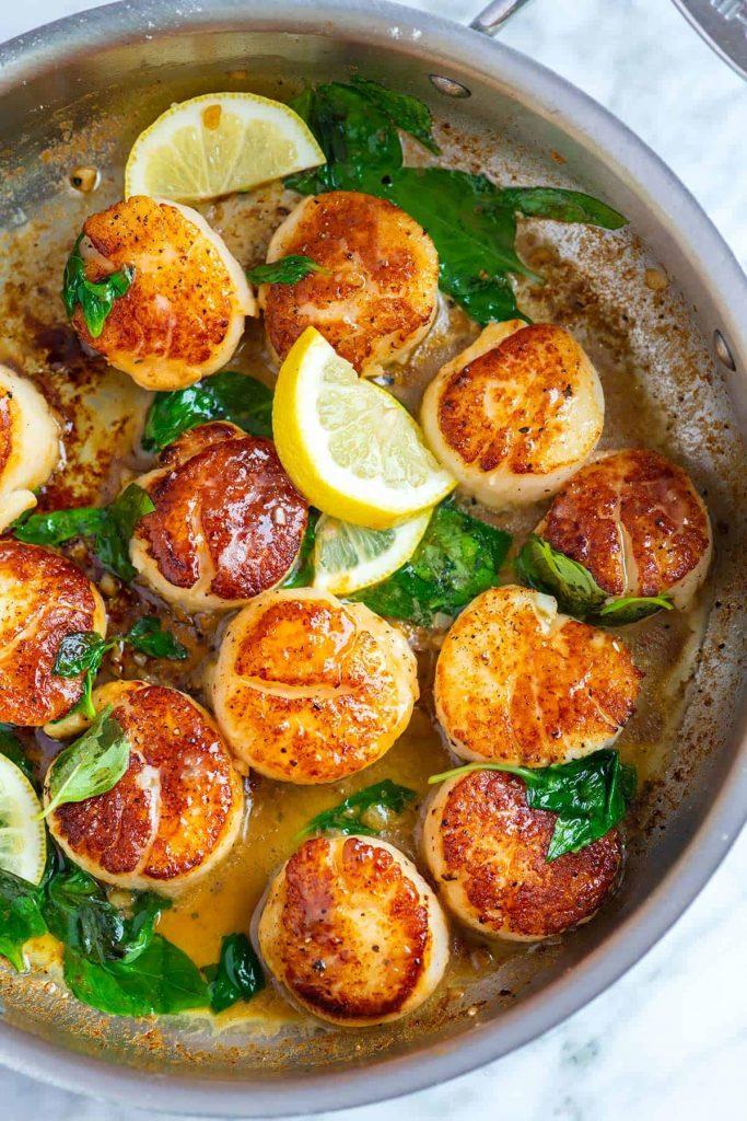 Pan Seared Scallops Recipe 1 1200