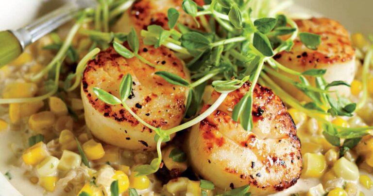What do scallops taste like?